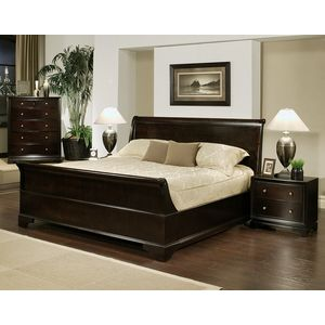 american drew antigua low profile bedroom set. Black Bedroom Furniture Sets. Home Design Ideas