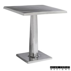 Surina Square End Table in Cast Aluminum by Allan Copley Designs