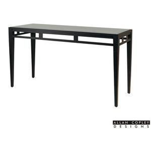 Madrid Glass Top Console Table by Allan Copley Designs