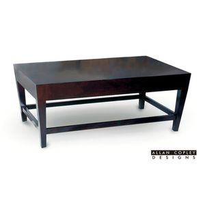 Marion Rectangular Cocktail Table in Espresso Finish by Allan Copley Designs