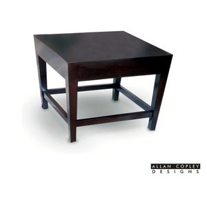 Marion Square End Table in Espresso Finish by Allan Copley Designs