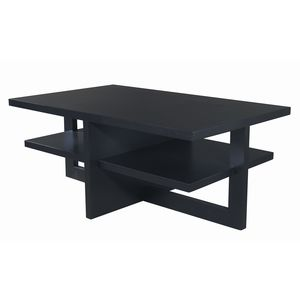 Samantha Rectangular Cocktail Table in Espresso Finish by Allan Copley Designs