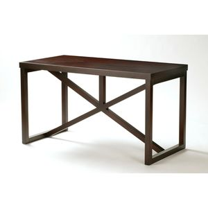 Snowmass 1-Drawer Writing Desk in Espresso Finish by Allan Copley Designs