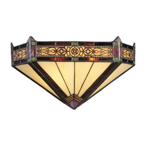 Filigree 2-Light Sconce In Aged Bronze by Elk Lighting