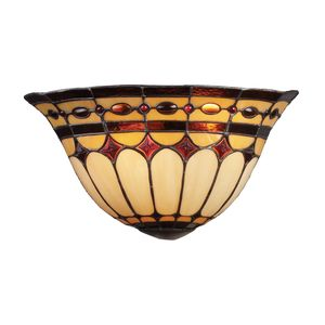 Diamond Ring 2-Light Sconce In Burnished Copper by Elk Lighting