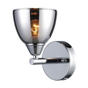 Reflections 1-Light Vanity In Polished Chrome by Elk Lighting