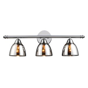 Reflections 3-Light Vanity In Polished Chrome by Elk Lighting