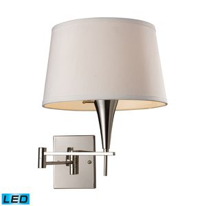 Swingarm 1-Light Sconce In Polished Chrome by Elk Lighting