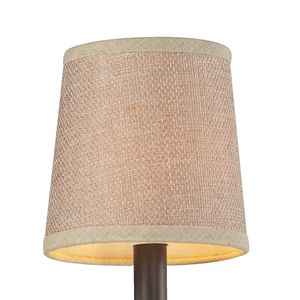 Veronica Tan Textured Linen Shade by Elk Lighting