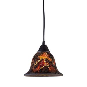 Firestorm 1-Light Pendant In Dark Rust by Elk Lighting