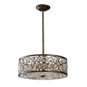 Amherst 6-Light Pendant In Antique Bronze by Elk Lighting