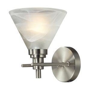 Pemberton 1 Light Bath In Brushed Nickel by Elk Lighting