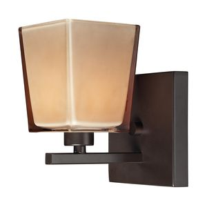 Serenity 1 Light Bath In Oiled Bronze by Elk Lighting