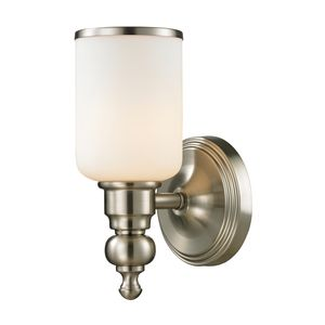 Bristol Collection 1 Light Bath In Brushed Nickel by Elk Lighting
