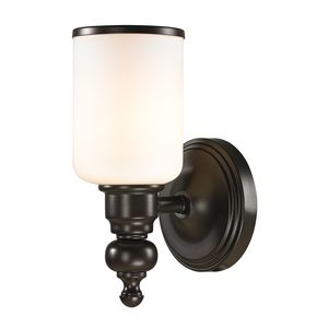 Bristol Collection 1 Light Bath In Oil Rubbed Bronze by Elk Lighting