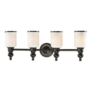 Bristol Collection 4 Light Bath In Oil Rubbed Bronze by Elk Lighting