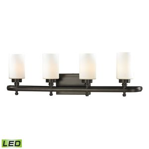 Dawson Collection 4 Light Bath In Oil Rubbed Bronze by Elk Lighting
