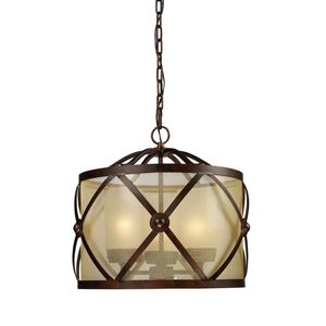 Cumberland 3-Light Chandelier In Classic Bronze by Elk Lighting