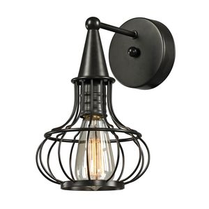 Yardley Collection 1 Light Sconce In Oil Rubbed Bronze by Elk Lighting