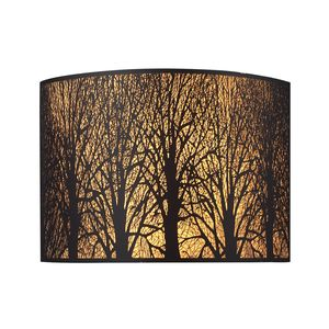 Woodland Sunrise 2-Light Sconce In Aged Bronze by Elk Lighting