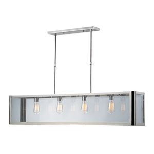 4- Light Island In Polished Chrome by Elk Lighting