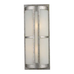 Trevot 1-Light Outdoor Wall Mount In Sunset Silver by Elk Lighting