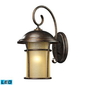 Bolla Vista 1 Light Outdoor Sconce In Regal Bronze by Elk Lighting