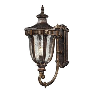 Sturgess Castle 1 Light Outdoor Sconce In Regal Bronze by Elk Lighting