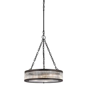 Linden Collection 3 Light Pendant In Oil Rubbed Bronze by Elk Lighting