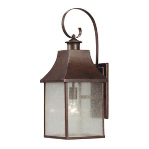 Town Square 1 Light Outdoor Sconce In Hazelnut Bronze by Elk Lighting