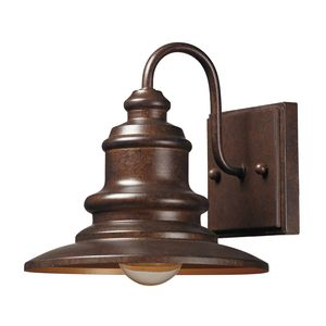 Marina 1 Light Outdoor Sconce In Hazelnut Bronze by Elk Lighting