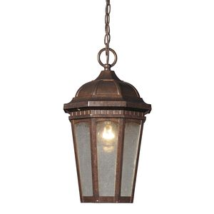 Fullerton 1 Light Outdoor Pendant In Hazelnut Bronze by Elk Lighting