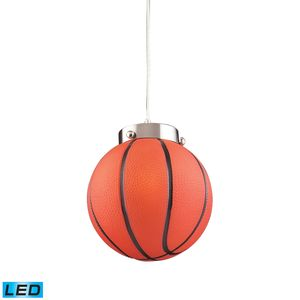 1 Light Basketball Pendant by Elk Lighting