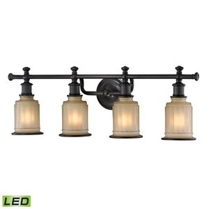 Acadia Collection 4 Light Bath In Oil Rubbed Bronze by Elk Lighting
