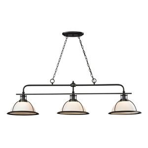Wilmington Collection 3 Light Island/Billiard Light In Oil Rubbed Bronze by Elk Lighting