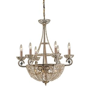 10 Light Chandelier In Dark Bronze by Elk Lighting