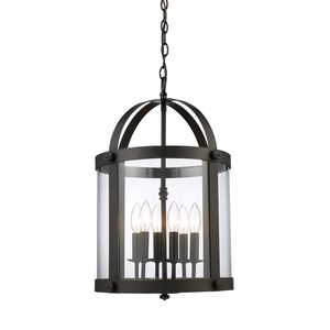 Chesapeake 6-Light Lantern In Oiled Bronze by Elk Lighting