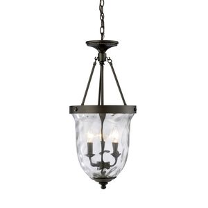 Yorkville 3-Light Lantern In Oiled Bronze by Elk Lighting