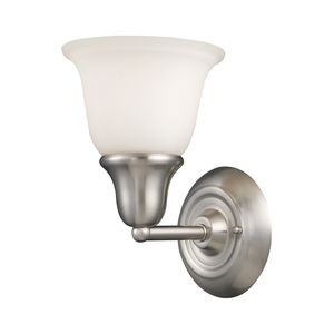 Berwick 1-Light Vanity In Brushed Nickel by Elk Lighting