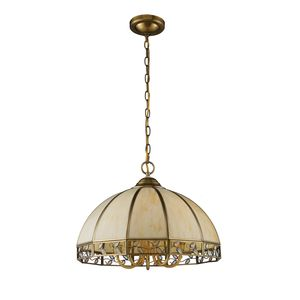 Gerard 5-Light Chandelier In Solid Brushed Brass by Elk Lighting