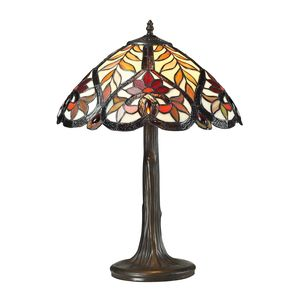 Brimford Collection 1 Light Table Lamp In Dark Bronze by Elk Lighting