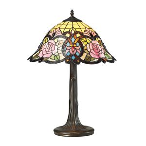 Rosedale Collection 1 Light Table Lamp In Dark Bronze by Elk Lighting