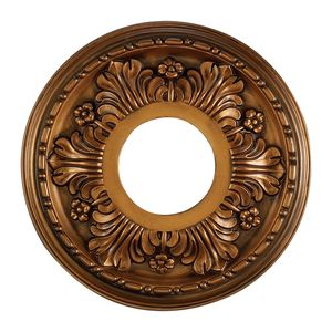 Acanthus Medallion 11 Inch In Antique Bronze Finish by Elk Lighting