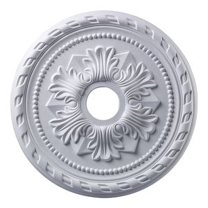 Corinthian Medallion 22 Inch In White Finish by Elk Lighting