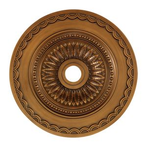 Brookdale Medallion 30 Inch In Antique Bronze Finish by Elk Lighting
