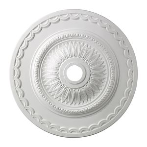 Brookdale Medallion 30 Inch In White Finish by Elk Lighting