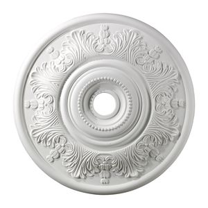 Lauerdale Medallion 30 Inch In White Finish by Elk Lighting