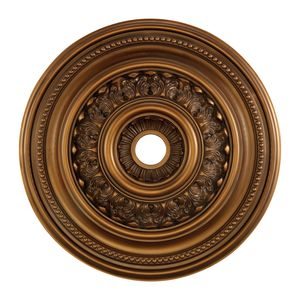 English Study Medallion 32 Inch In Antique Bronze Finish by Elk Lighting