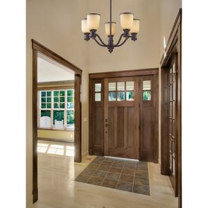 Brooksdale 5-Light Chandelier In Antique Copper by Elk Lighting