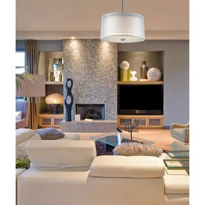 3- Light Pendant In Polished Chrome by Elk Lighting